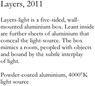 Layers, 2011